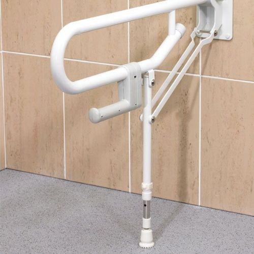 DTUK400 Bariatric Fold-Up Support Rail with Leg